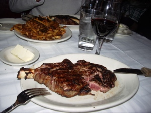 Drool-worthy steak at Gibson's in Chicago
